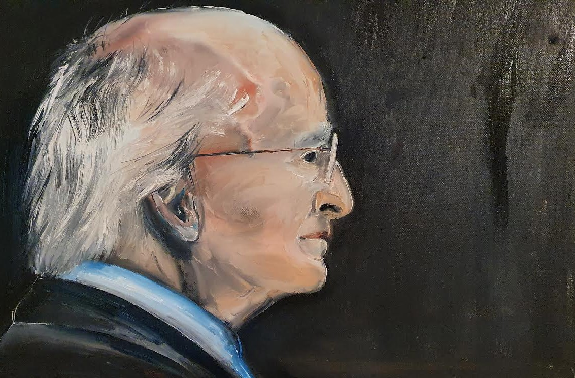 Michael D Higgins Painting- Ennis Art School