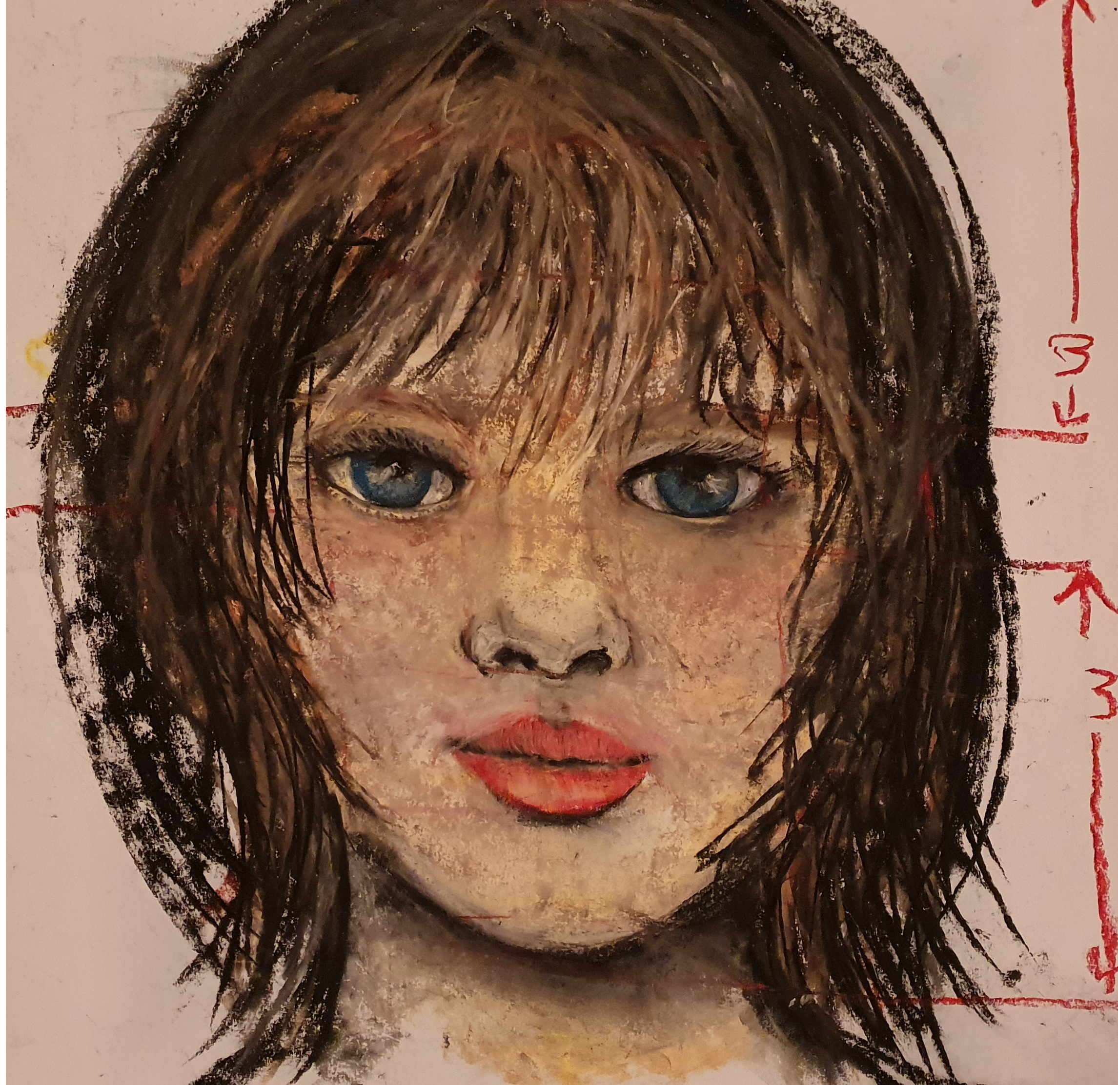 Portraits for Beginners, using chalk pastels - Courses with Ennis Art School