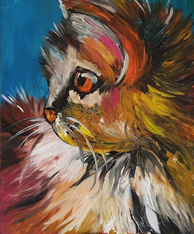 Pretty Pussy Cat - Ennis Art School