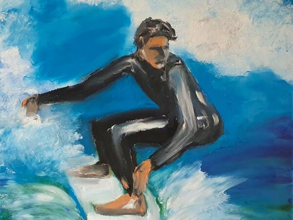 The Surfer - Ennis Art School