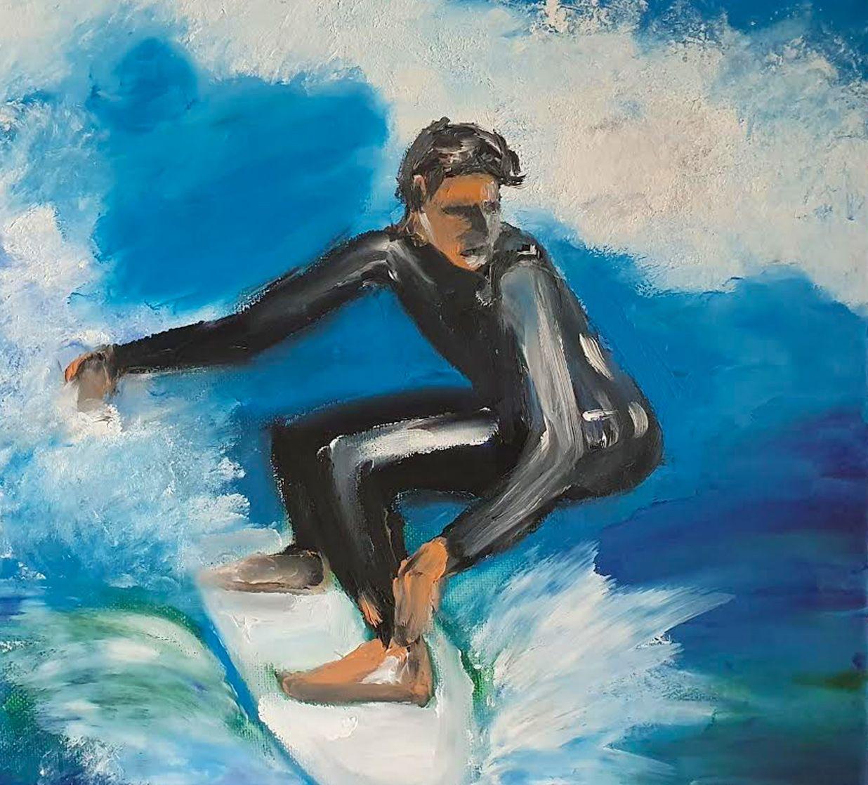 The Surfer - Ennis Art School