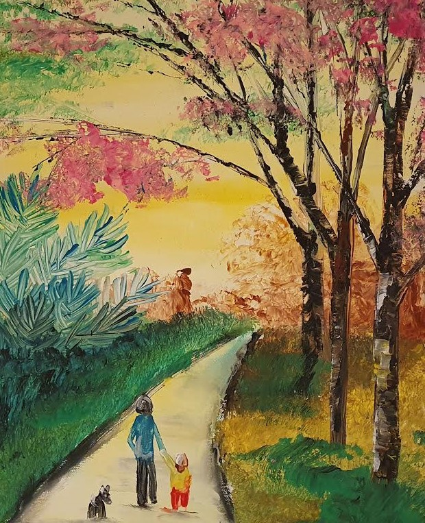 Walking In The Park - Ennis Art School
